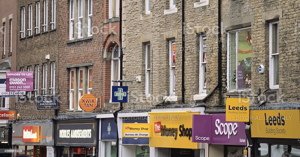 North Road, Durham, England royalty-free stock photo