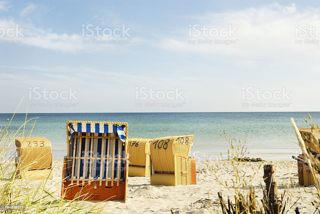 North Sea Beach stock photo