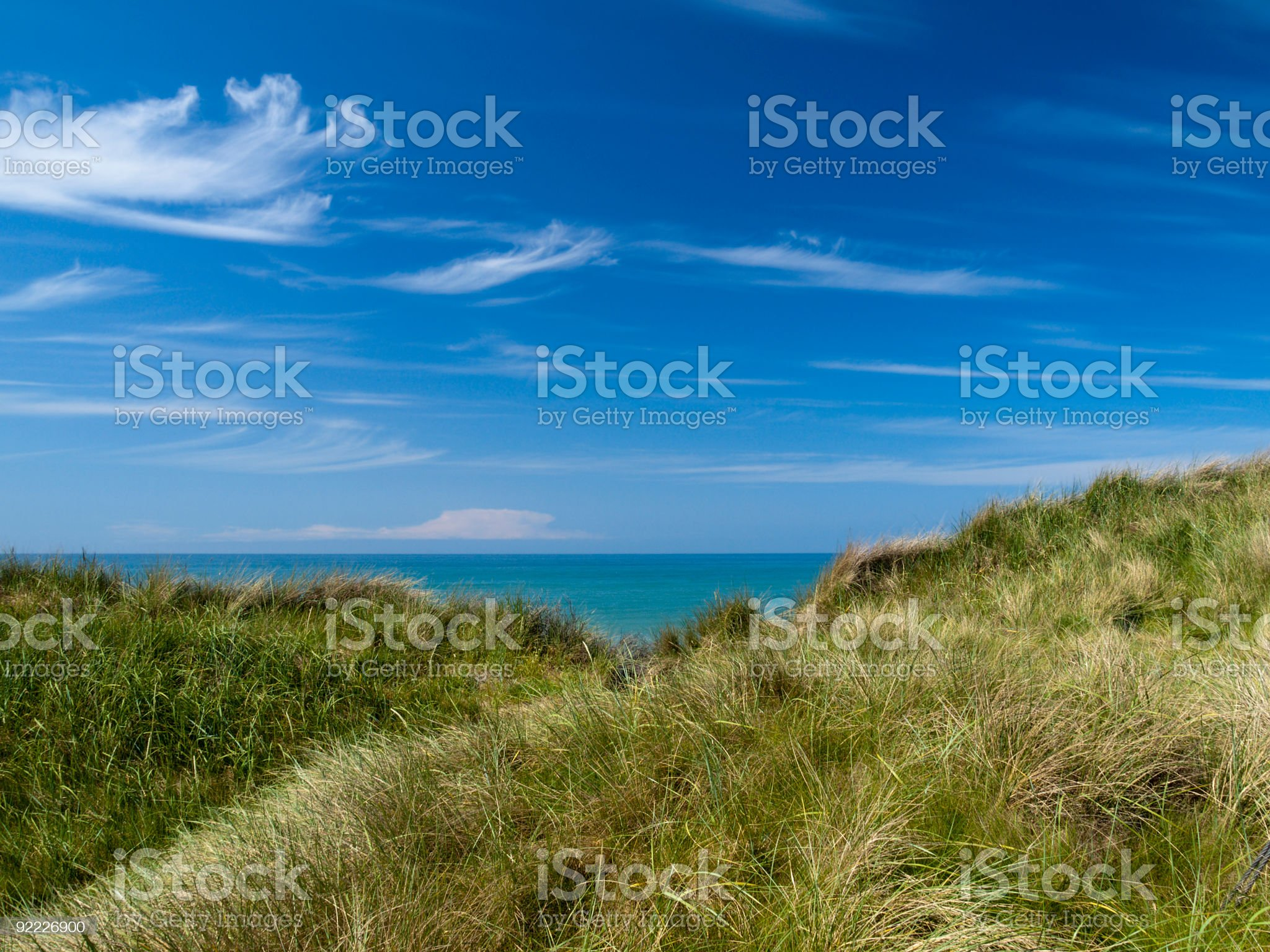North Sea royalty-free stock photo