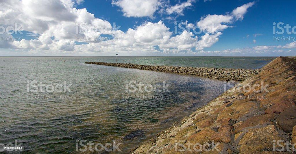 North Sea, Schleswig-Holstein stock photo
