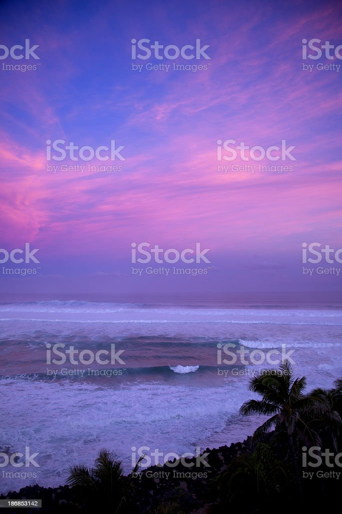 North Shore of Hawaii royalty-free stock photo