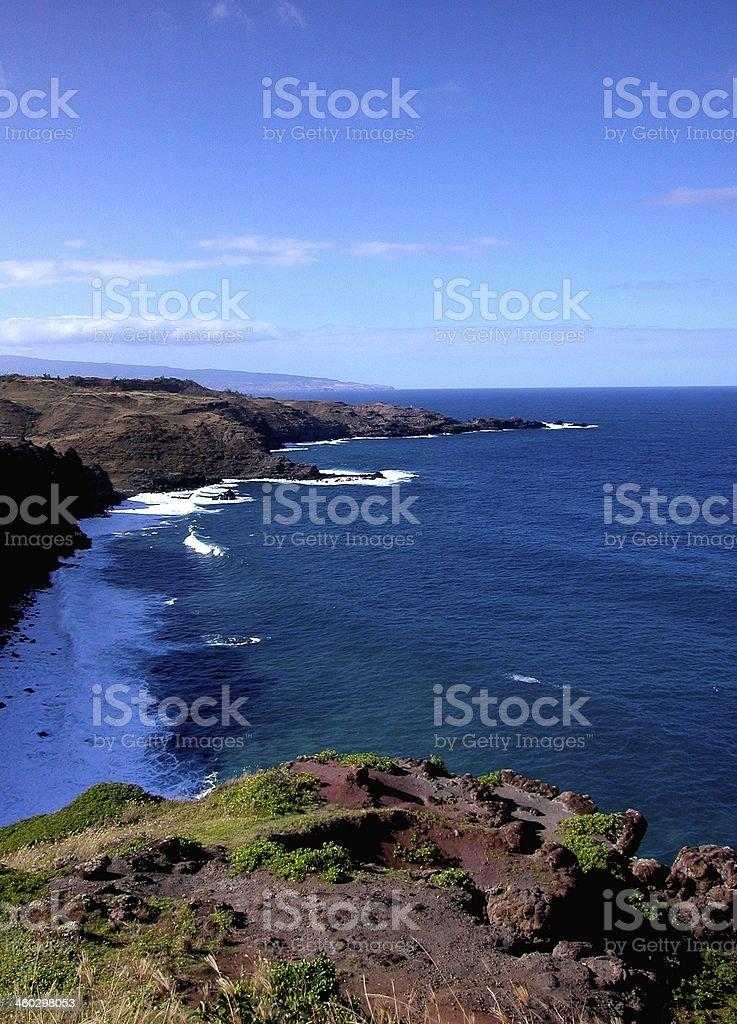 North Shore of Maui royalty-free stock photo