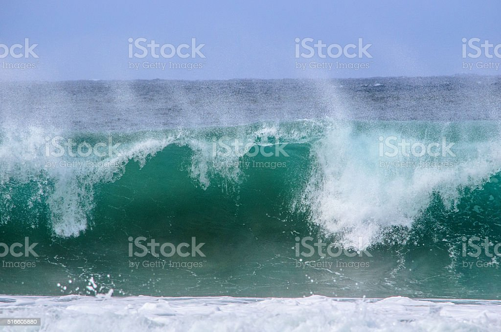 North Shore Waves stock photo