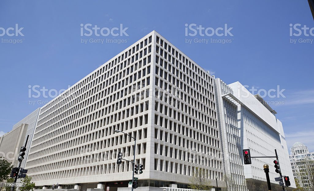 North Side Office Building for World Bank Headquarters, Washington DC stock photo