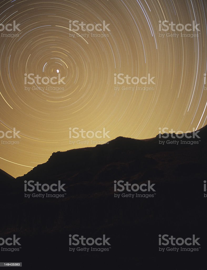 North Star royalty-free stock photo