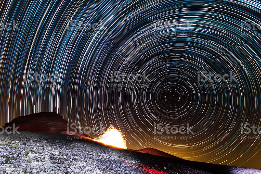 North Star stock photo