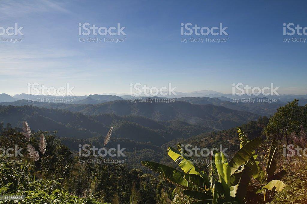 North Thailand Landscape royalty-free stock photo