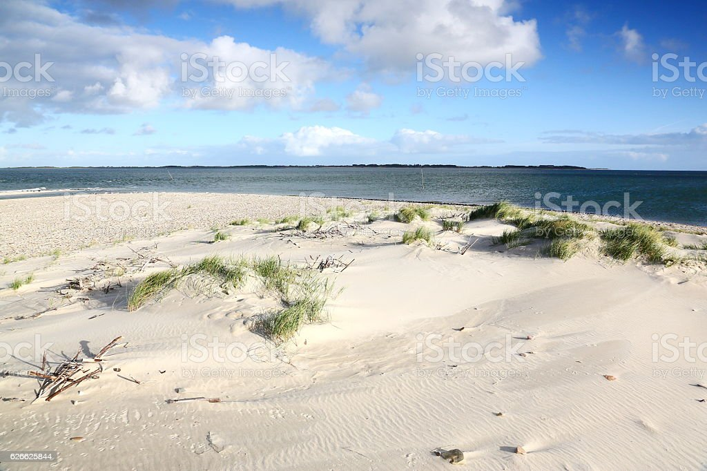 North tip of island Amrum, Germany stock photo
