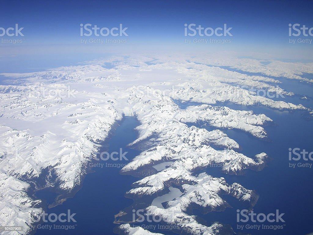 North to Alaska royalty-free stock photo