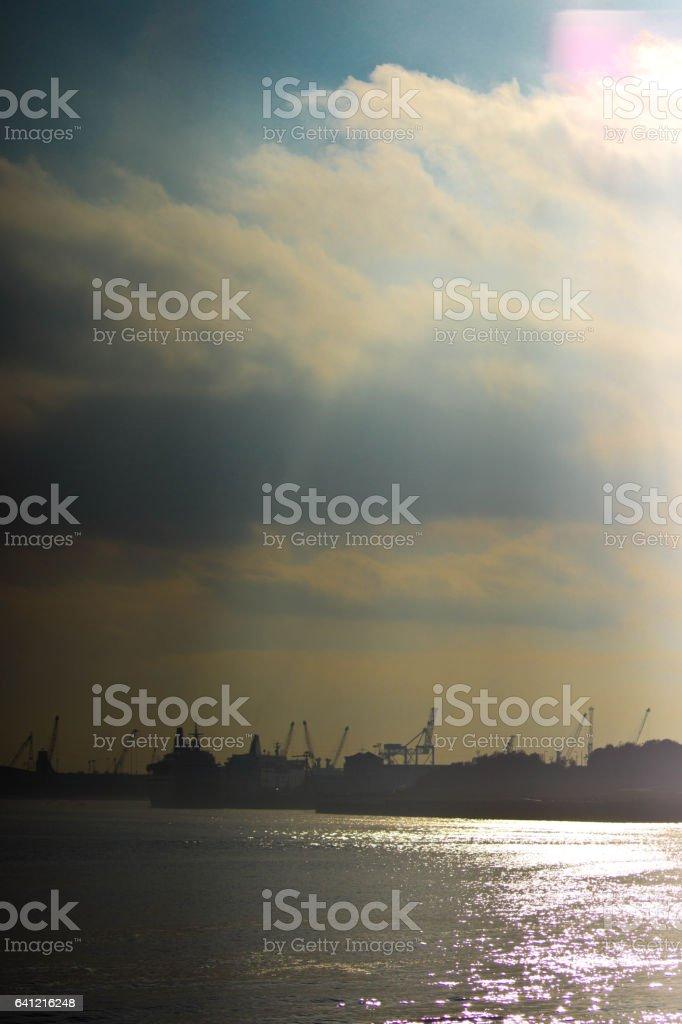 North Tyneside stock photo