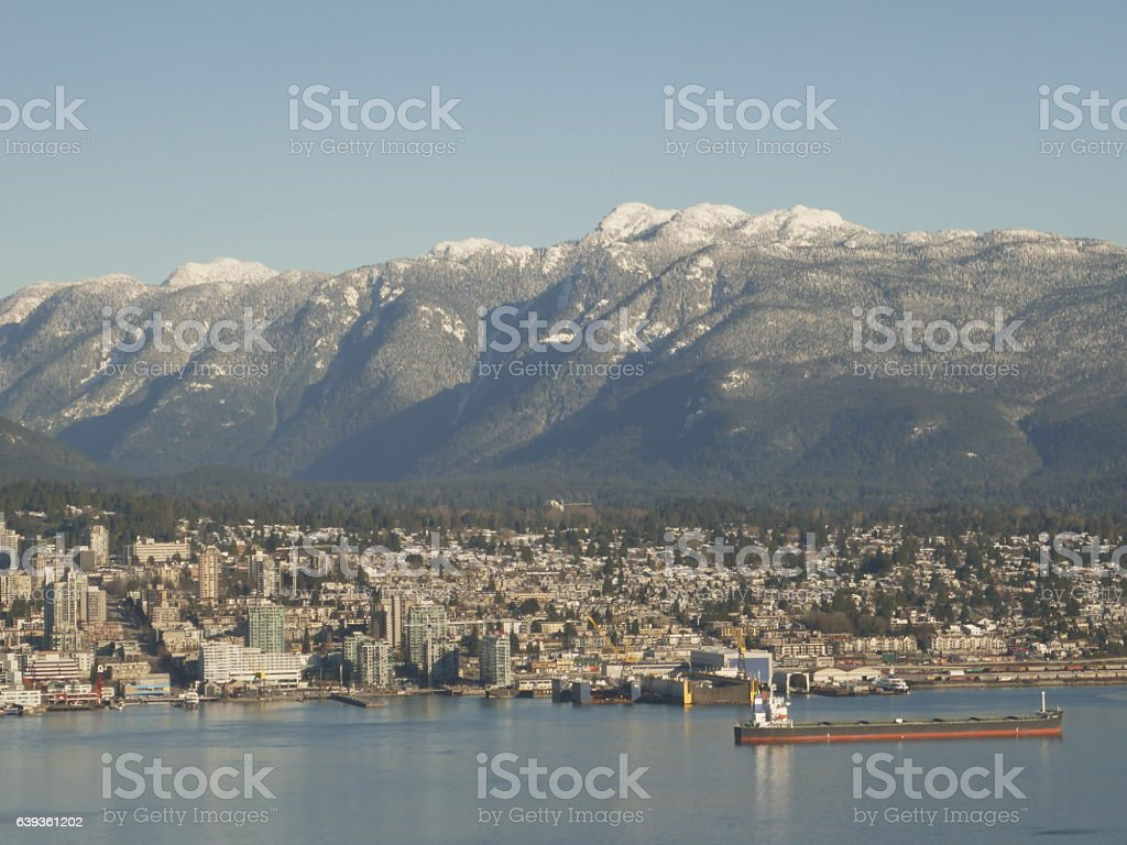 North Vancouver stock photo