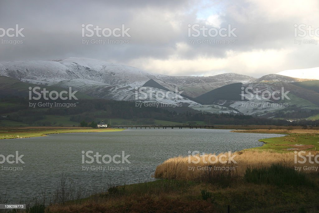 North Wales Landscape stock photo