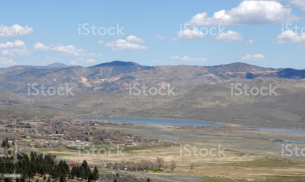 North Washoe Valley royalty-free stock photo