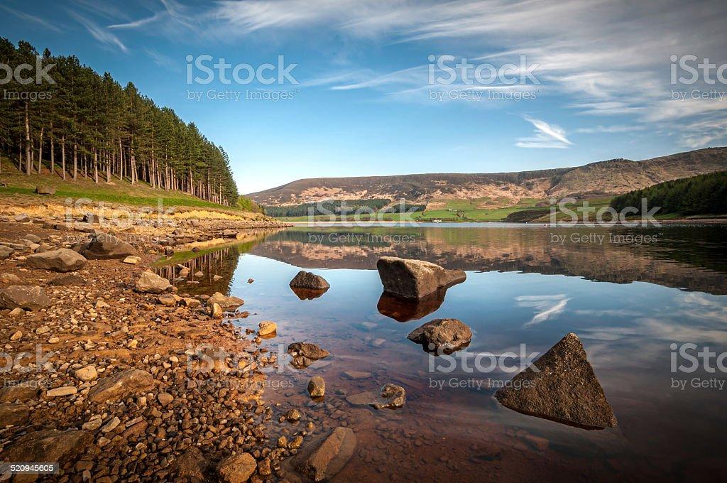 North west England Landscape stock photo