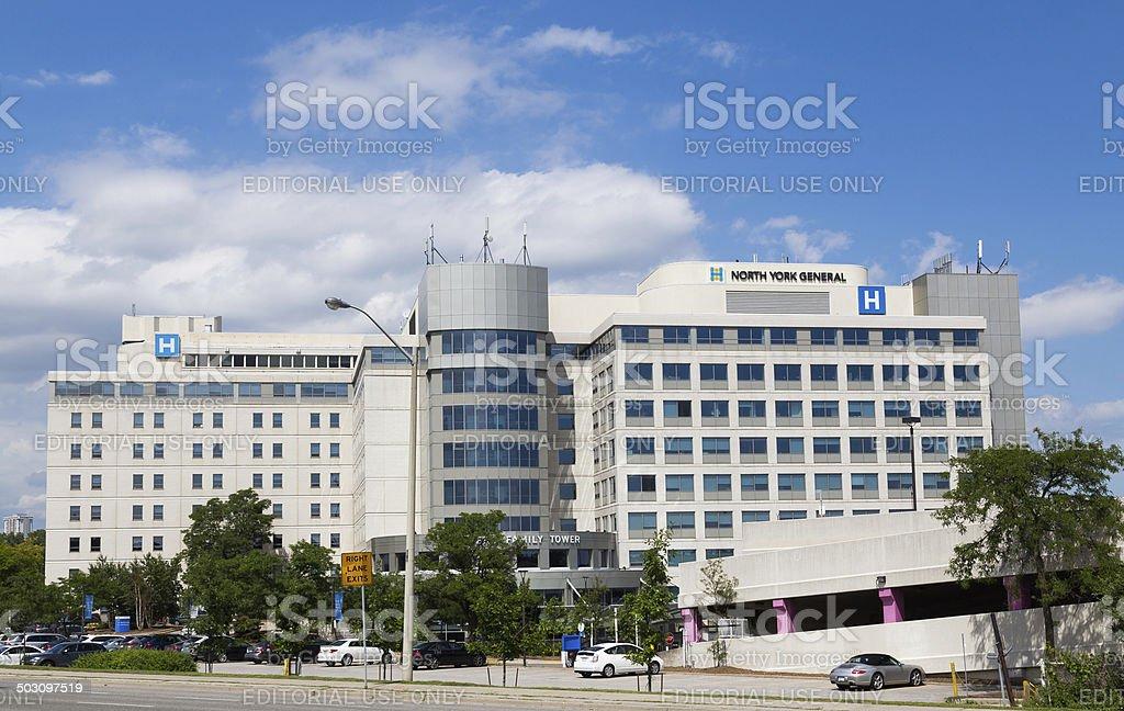 North York General Hospital stock photo