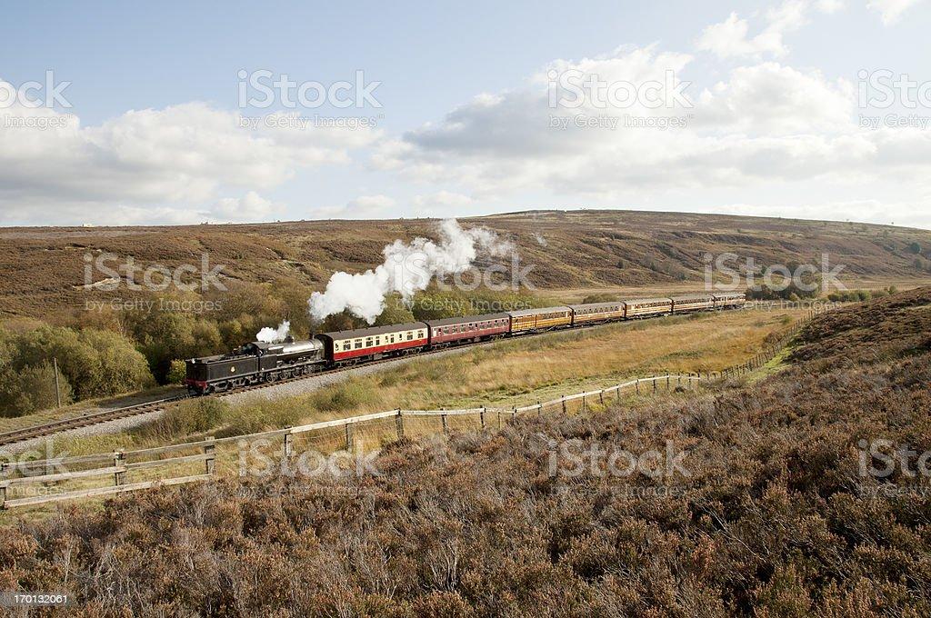 North York Moors Railway royalty-free stock photo