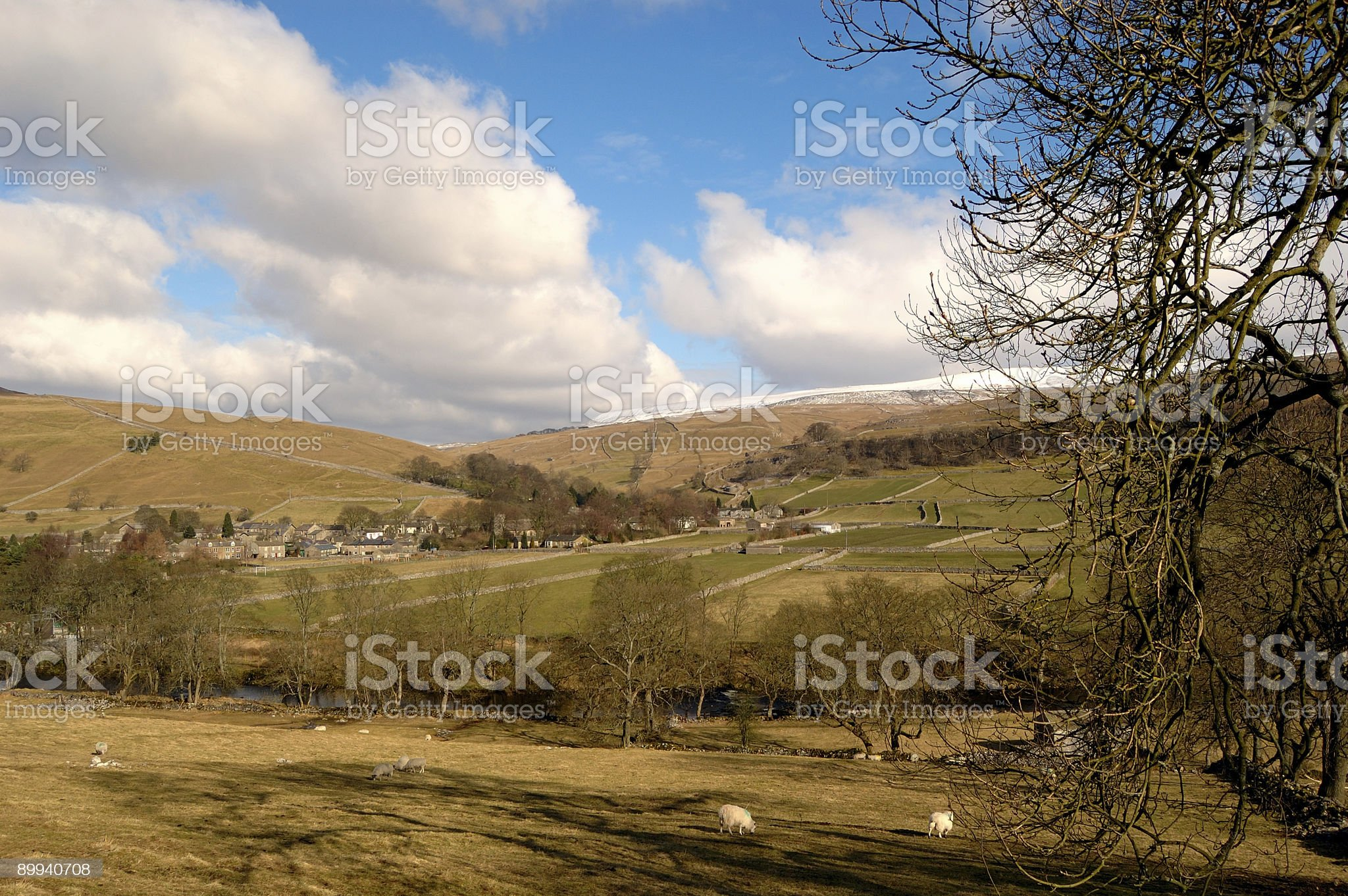 North Yorkshire Dales royalty-free stock photo