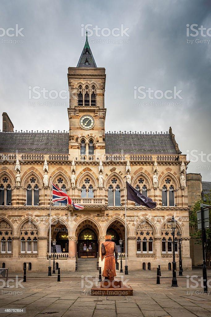 Northampton city, England, UK stock photo
