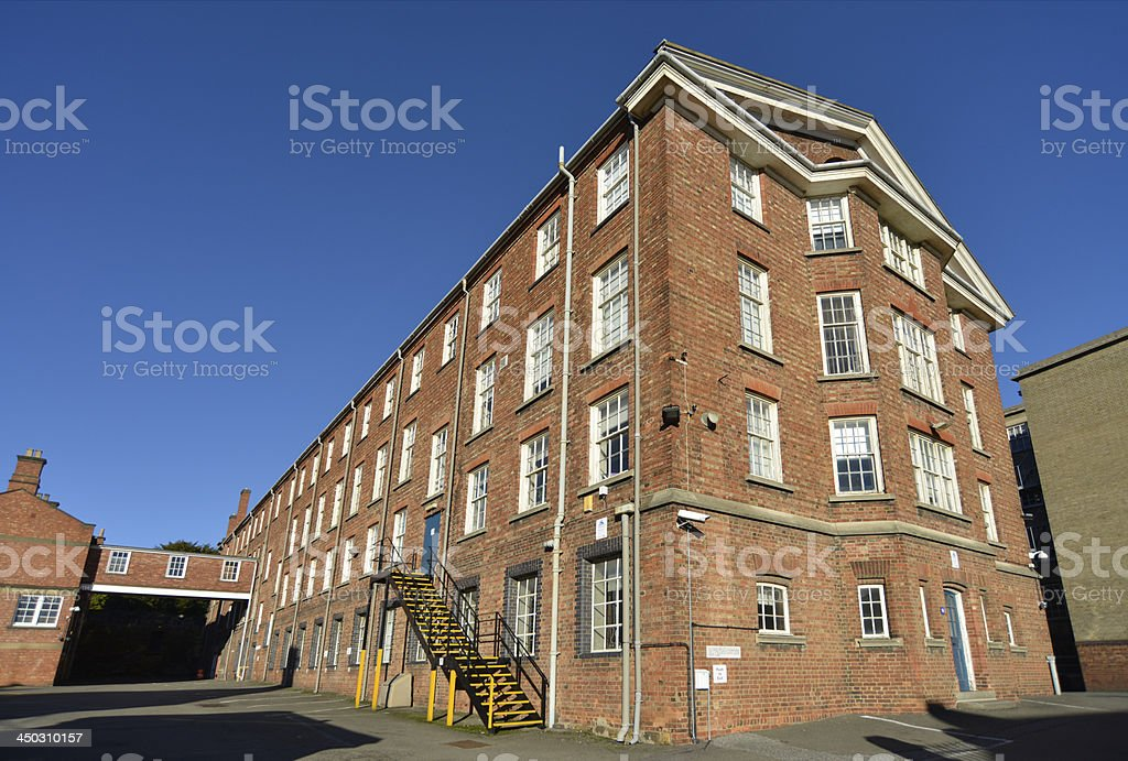 Northampton old jail. stock photo