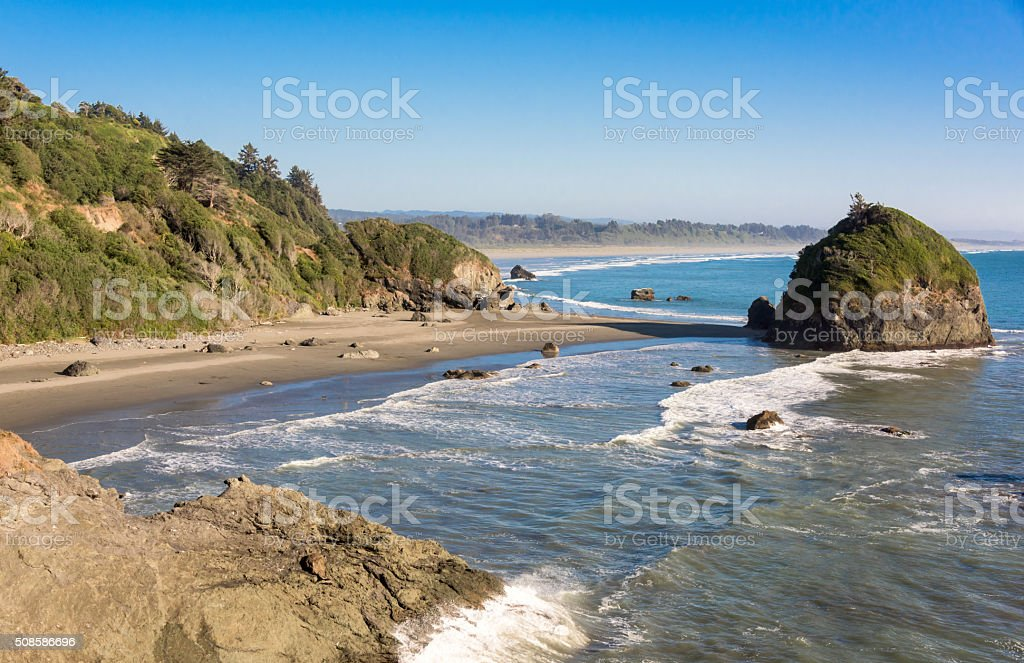 Northern California Coast stock photo