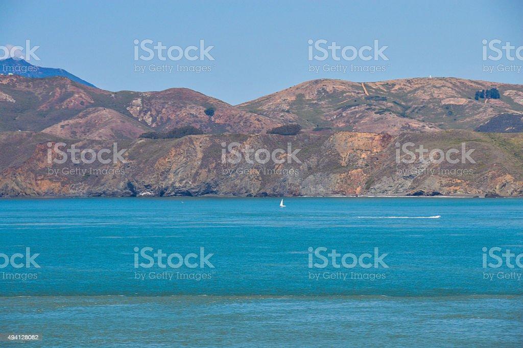 Northern California coastline stock photo