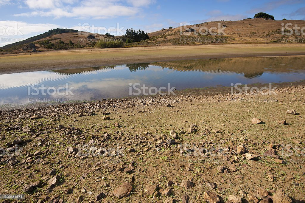 Northern California drought stock photo