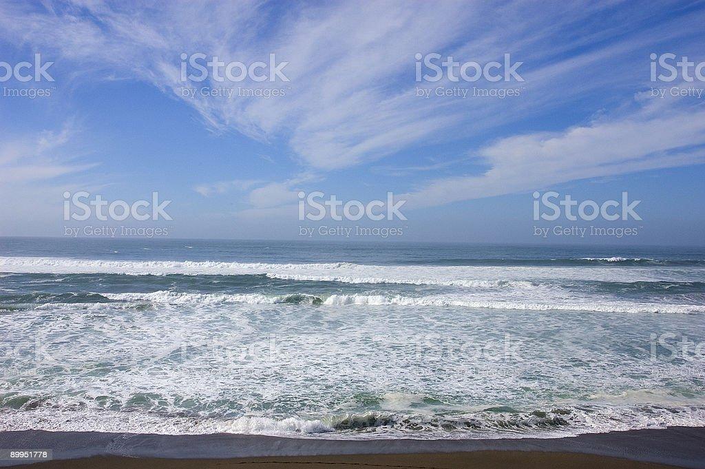 El norte de california al mar foto de stock libre de derechos