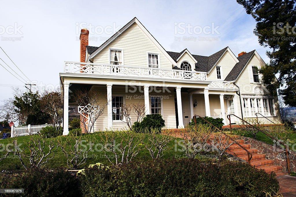 Northern California Petaluma Home stock photo