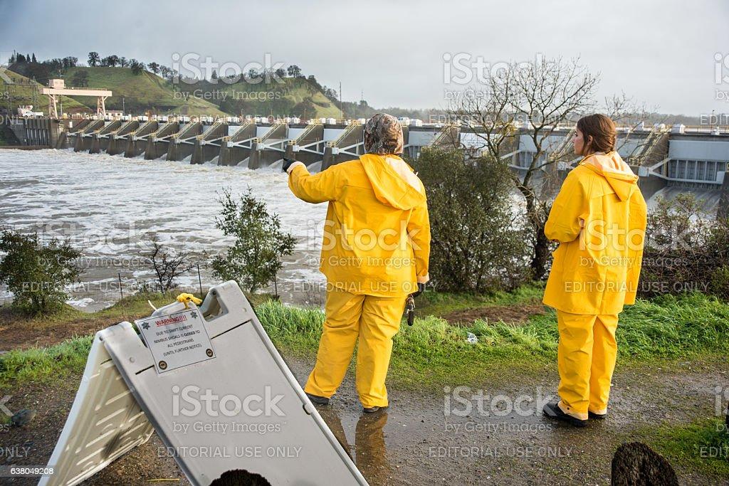 Northern California Storm stock photo