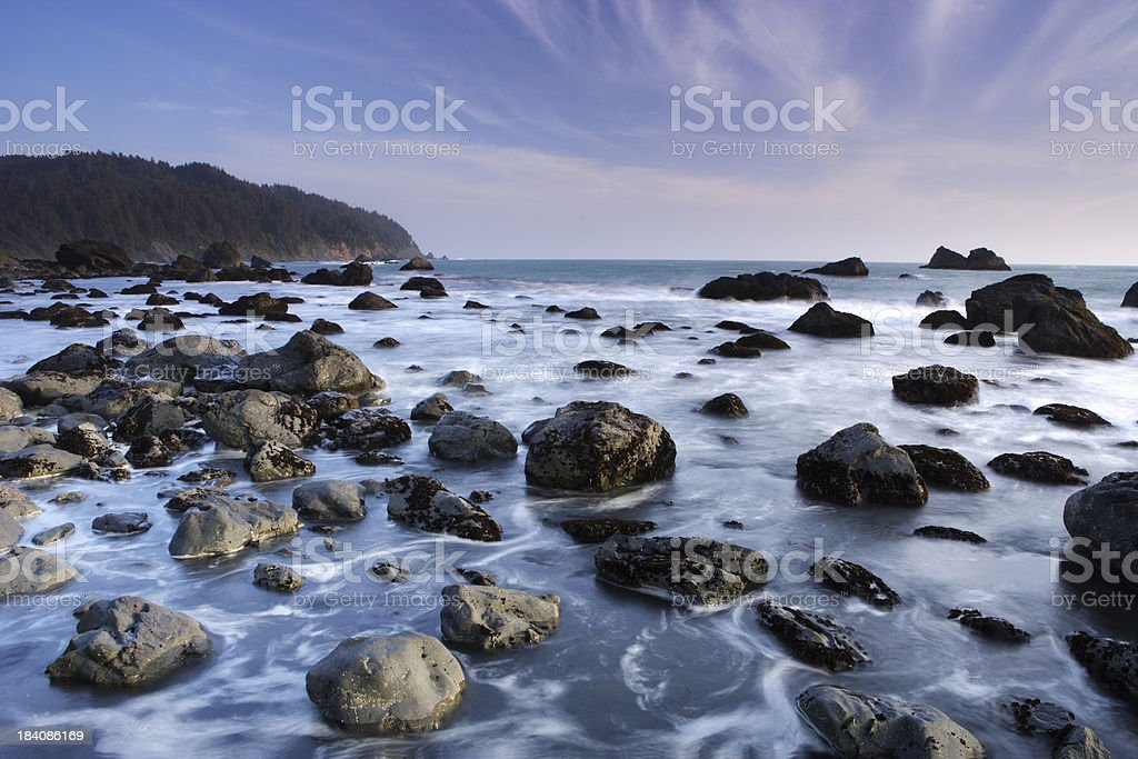 Northern Coast royalty-free stock photo