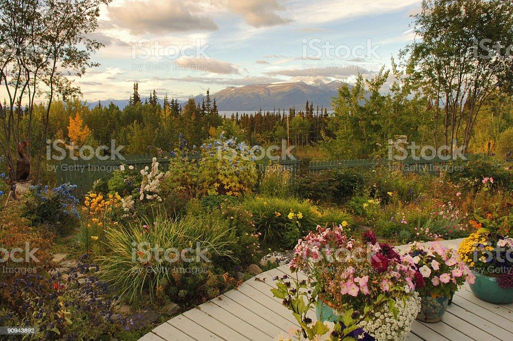 northern garden royalty-free stock photo