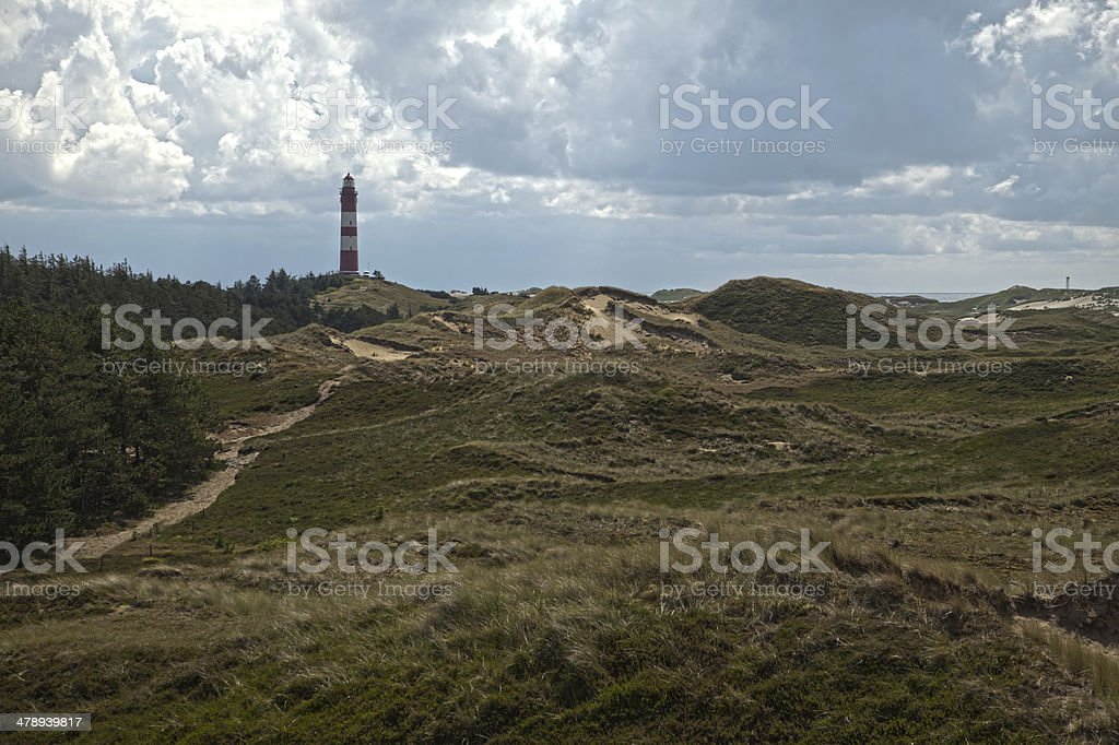 Northern German lighthouse royalty-free stock photo