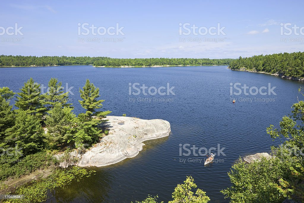 Northern Lake Country royalty-free stock photo