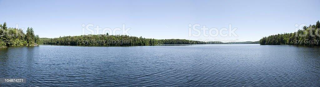Northern Lake royalty-free stock photo