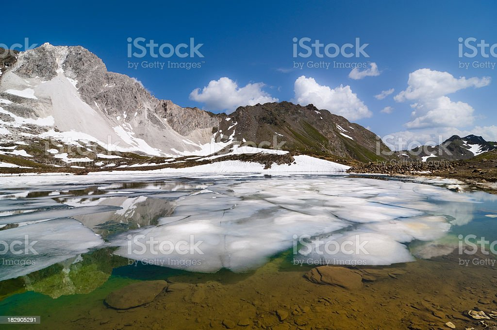 Northern landscape royalty-free stock photo