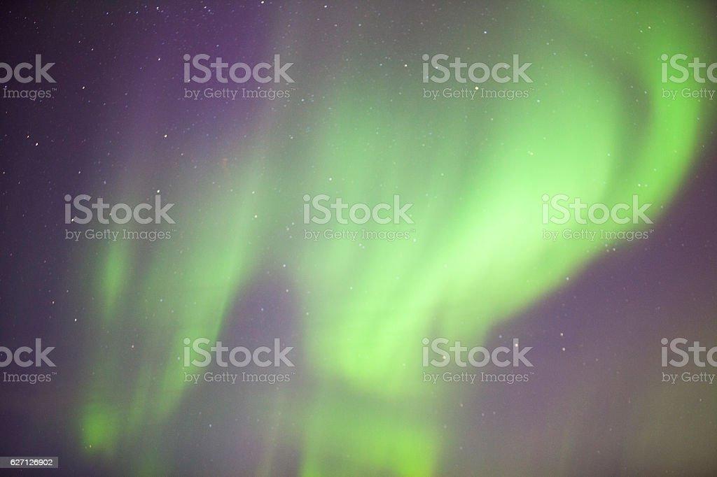 Northern lights or polar lights stock photo