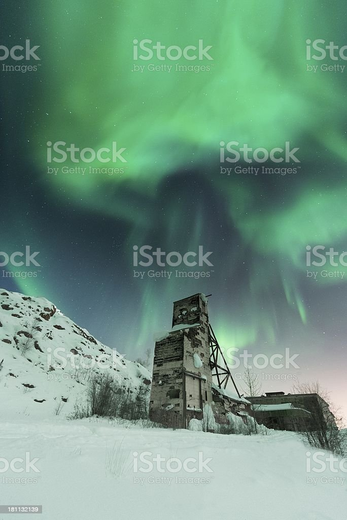 Northern Lights royalty-free stock photo