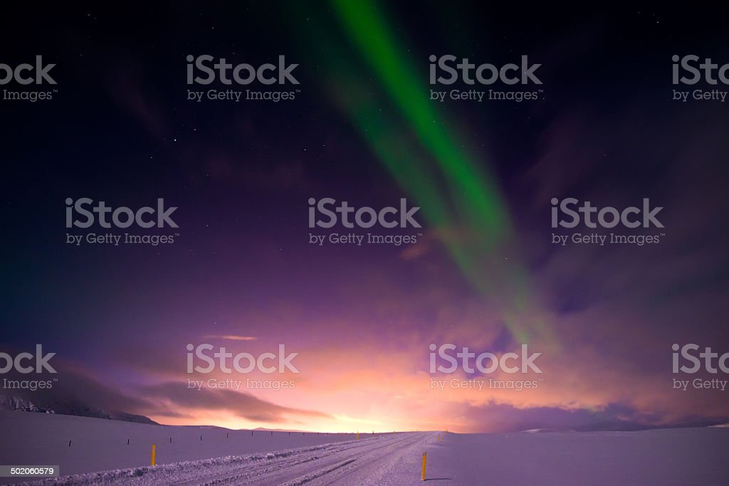 Northern Lights (Aurora Borealis) royalty-free stock photo