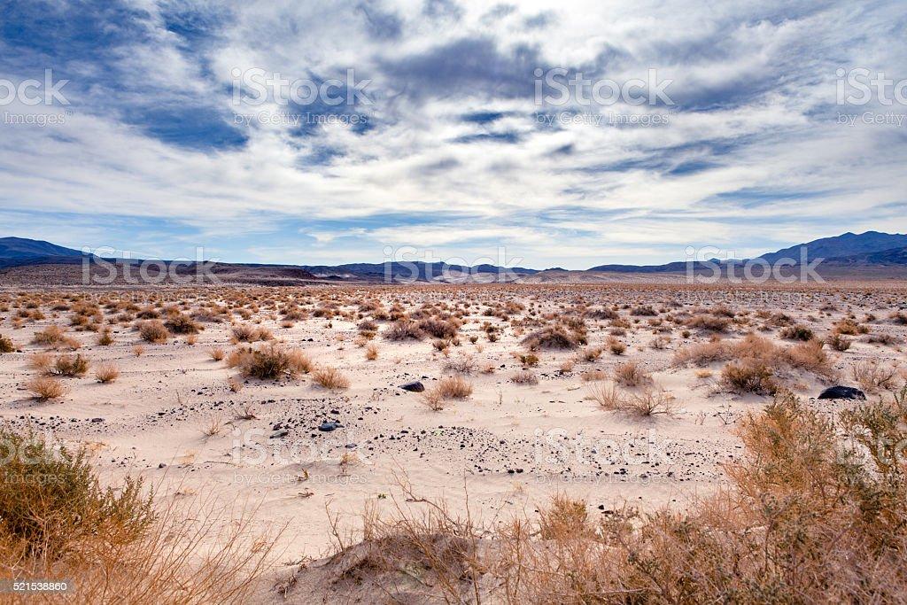 Northern Mojave Desert, Owens Valley, California. stock photo