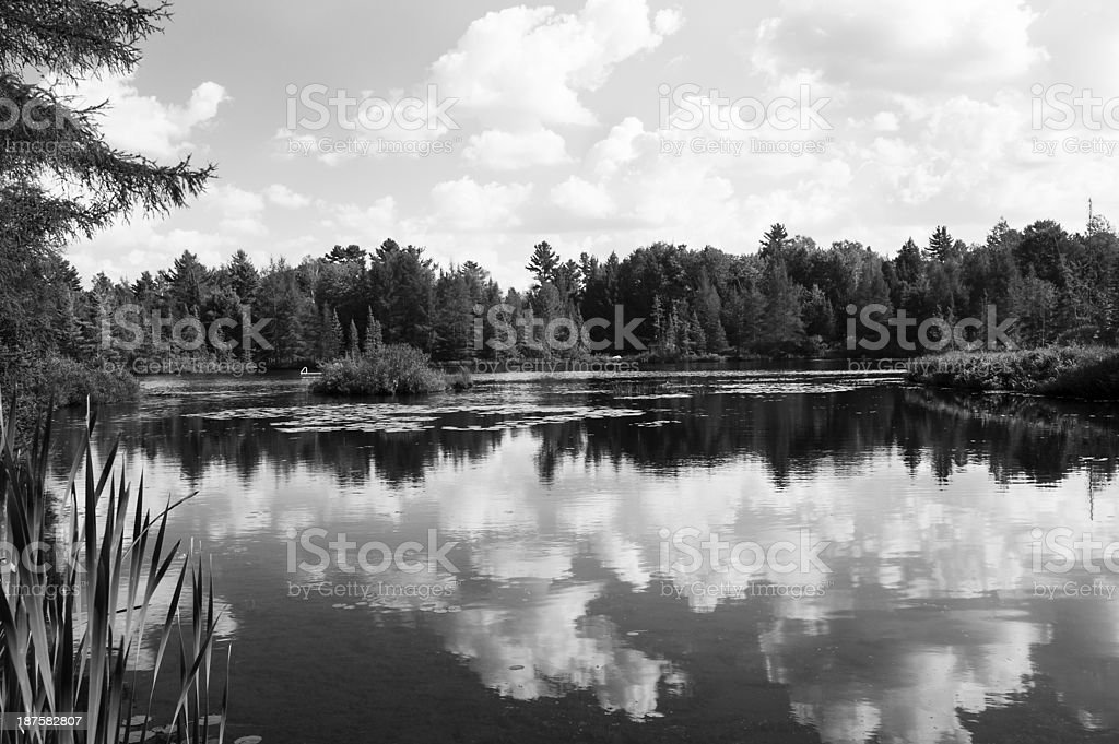 Northern Ontario stock photo