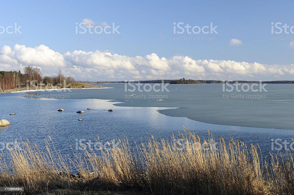 Northern Sea, Finland stock photo