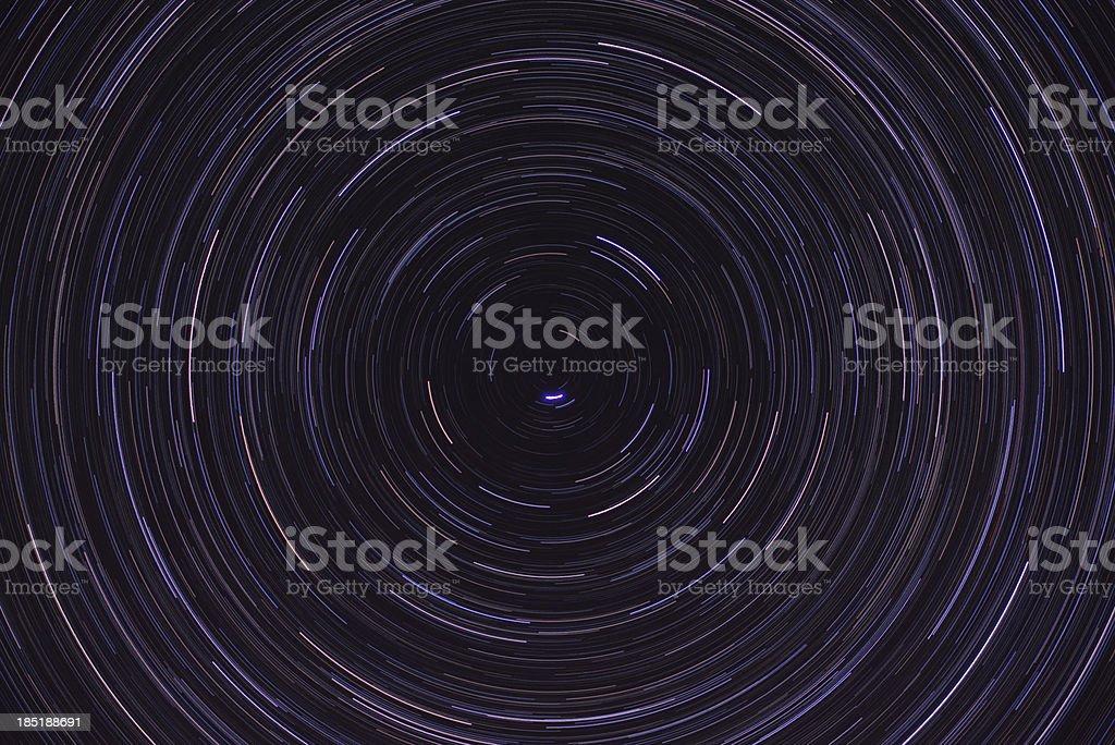 Northern stars royalty-free stock photo