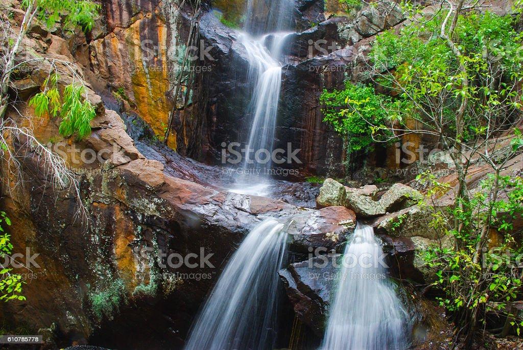 Northern Territory Australia Waterfall stock photo