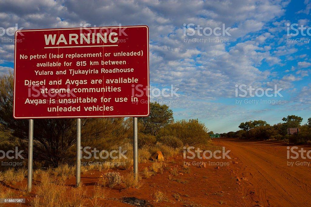 Northern Territory Sign, NT, Australia stock photo