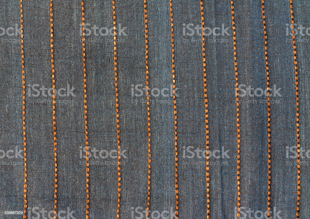 Northern thai fabric pattern background royalty-free stock photo