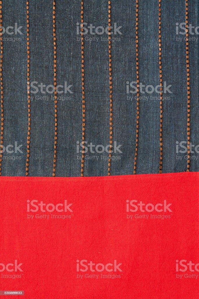 Northern thai fabric pattern royalty-free stock photo