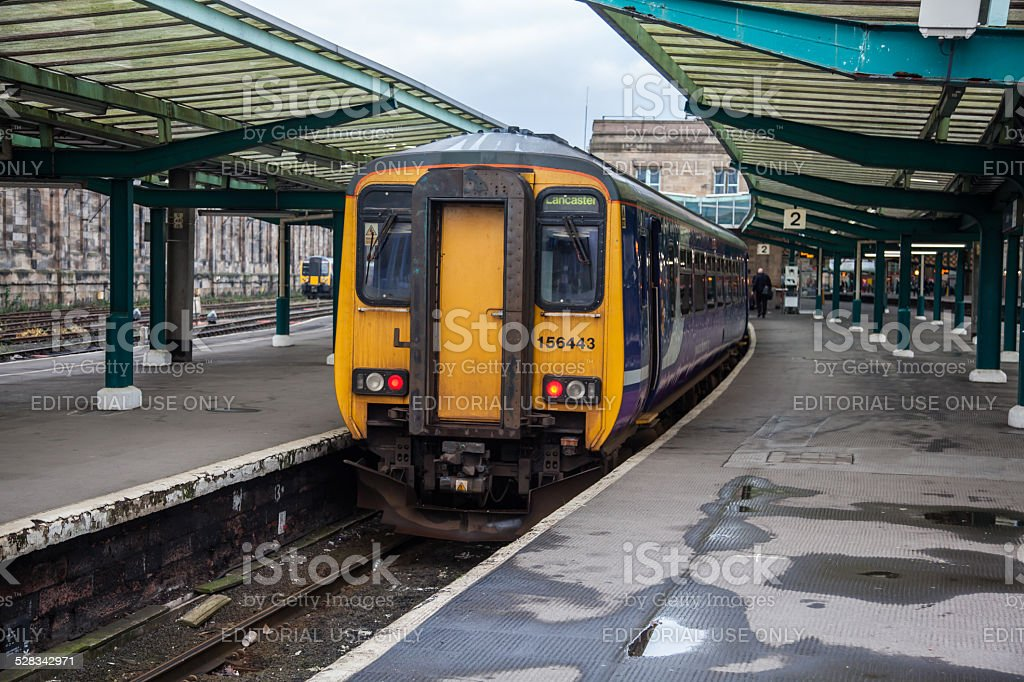 Northern Trains stock photo