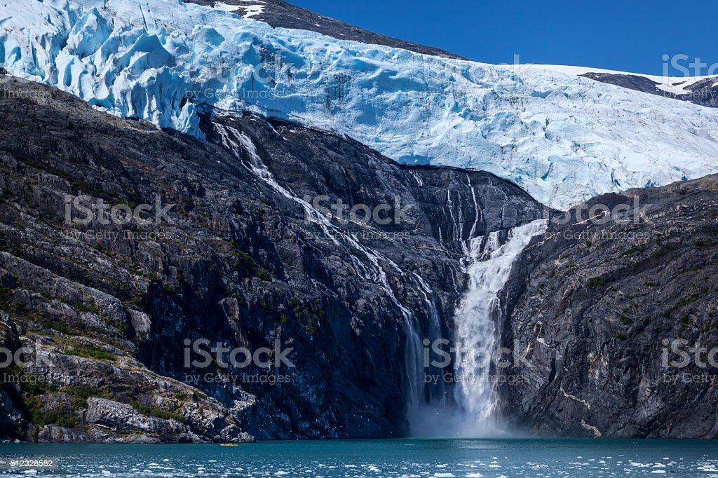 Northland Glacier royalty-free stock photo