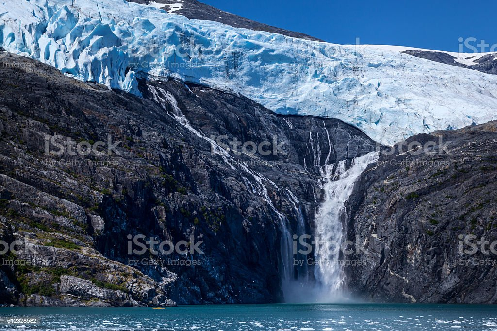 Northland Glacier stock photo