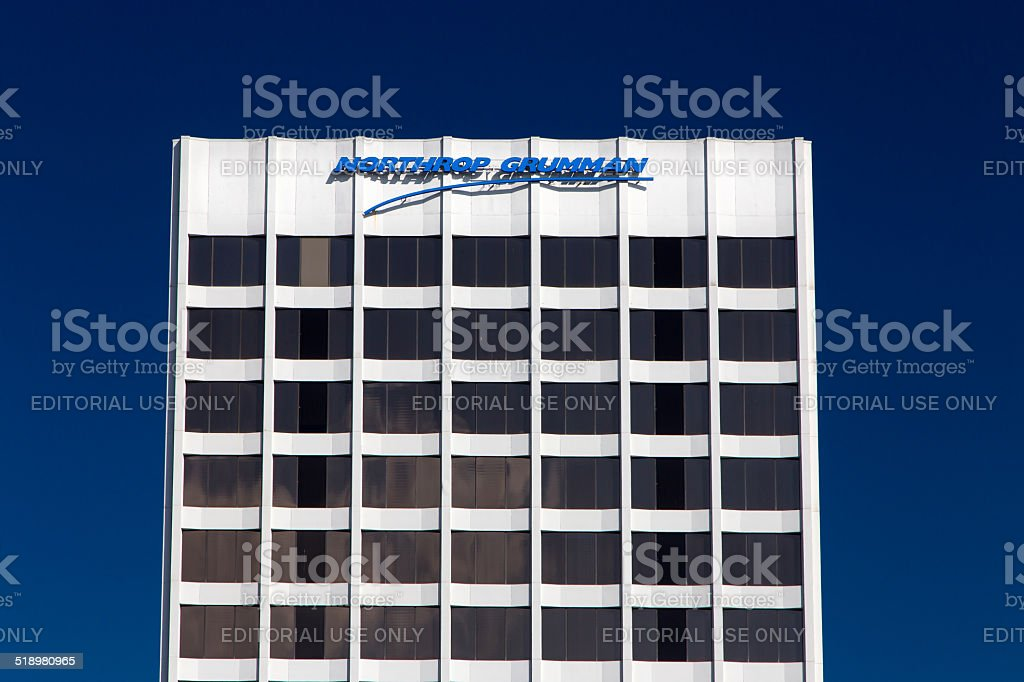 Northrop Grumman Facility stock photo